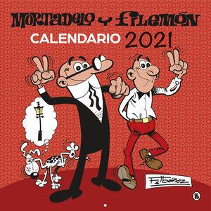CALENDARIO MORTADELO Y FILEMON 2021