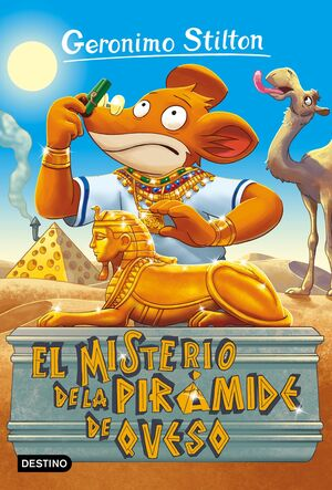 EL MISTERIO DE LA PIRAMIDE DE QUESO. GS 17