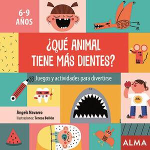QUÉ ANIMAL TIENE MÁS DIENTES?