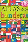 ATLAS DE BANDERAS CON PEGATINAS