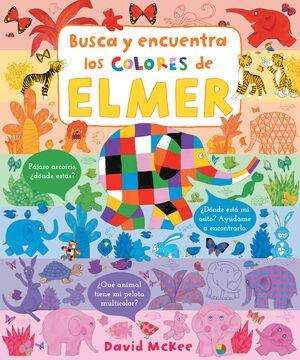 BUSCA Y ENCUENTRA LOS COLORES DE ELMER