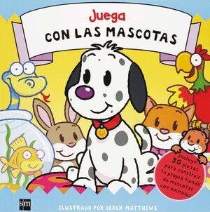 JUEGA CON LAS MASCOTAS.(+30 PIEZAS CONSTRUIR TU TI
