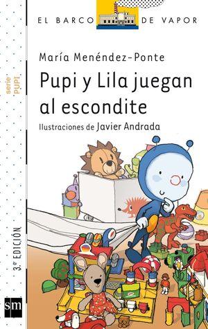 PUPI Y LILA JUEGAN AL ESCONDITE.