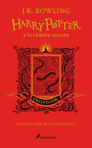 HARRY POTTER Y LA CAMARA SECRETA. GRYFFINDOR